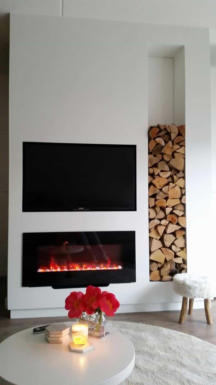 Interieur TV meubel - Bos bouwpartner